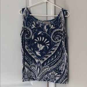 Chico's Patterned Tank